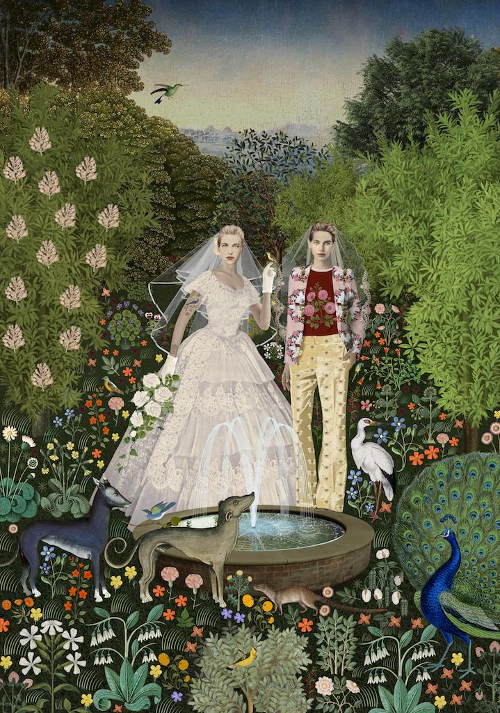 The garden betrothal
