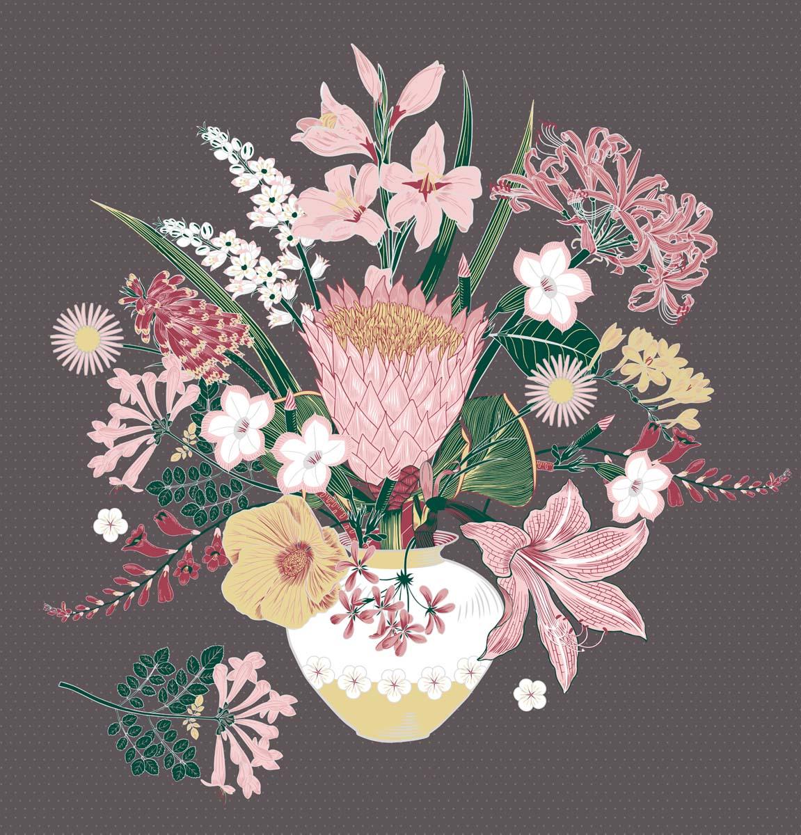 Floral Bouquet Pink